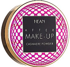 Kup Kaszmirowy puder do twarzy - Hean After Makeup Cashmere
