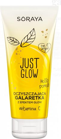 Oczyszczająca galaretka do twarzy z efektem glow - Soraya Just Glow