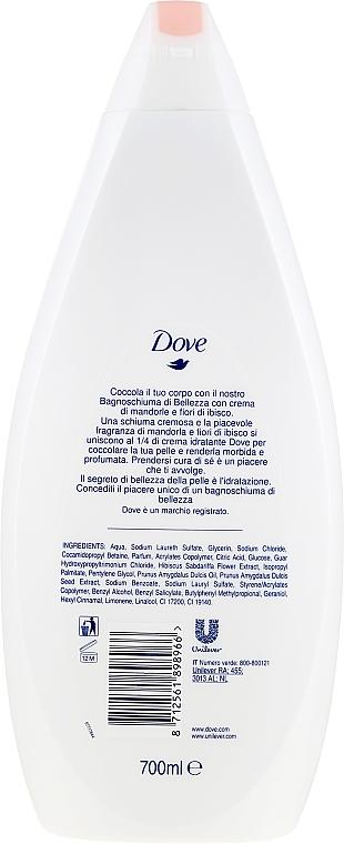 Odżywczy żel pod prysznic Mleczko migdałowe z hibiskusem - Dove Purely Pampering Nourishing Shower Gel — фото N2