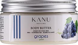 Kup Masło do ciała Greckie winogrona - Kanu Nature Greek Grape Body Butter