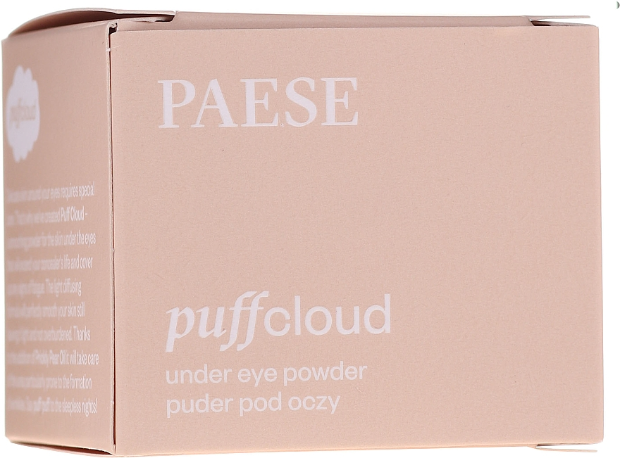 Puder pod oczy - Paese Puff Cloud