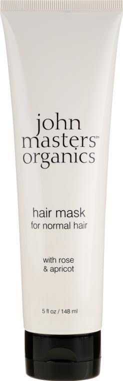 Maska do włosów normalnych Róża i morela - John Masters Organics Hair Mask For Normal Hair with Rose & Apricot — фото N1