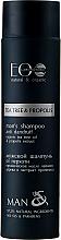 Kup PRZECENA! Przciwłupieżowy szampon do włosów dla mężczyzn - ECO Laboratorie Man's Shampoo Tee Tree & Propolis *