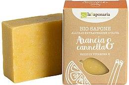 Kup Mydło w kostce z oliwą bogate w witaminę E Pomarańcza i cynamon - La Saponaria Orange & Cinnamon Soap