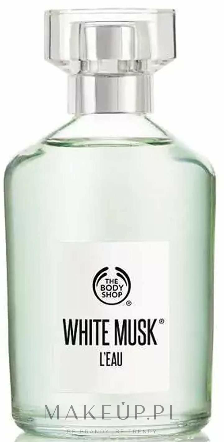 the body shop white musk l'eau