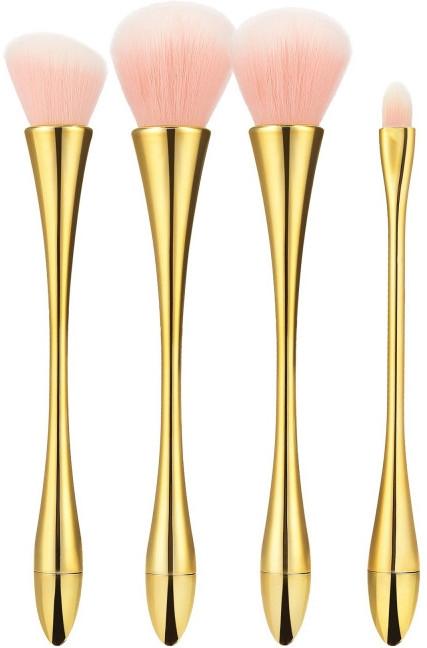 Zestaw profesjonalnych pędzli do makijażu, 4 szt. - Tools For Beauty