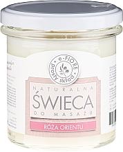 Kup Naturalna świeca do masażu Róża Orientu - E-Fiore