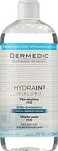 Kup Płyn micelarny H2O do cery suchej, bardzo suchej i odwodnionej - Dermedic Hydrain3 Hialuro