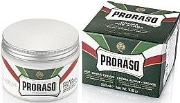 Kup Krem przed goleniem z mentolem i eukaliptusem - Proraso Green Pre Shaving Cream