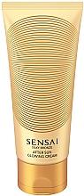 Kup Krem do ciała z błyszczącymi drobinkami - Kanebo Sensai Silky Bronze After Sun Glowing Cream