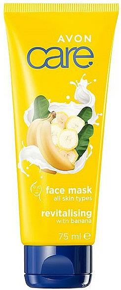 Rewitalizująca maska do twarzy z bananem - Avon Care