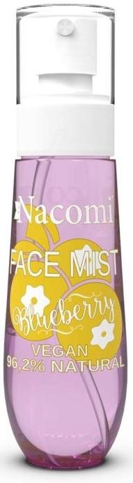 Naturalna wegańska mgiełka do twarzy i ciała Borówka - Nacomi