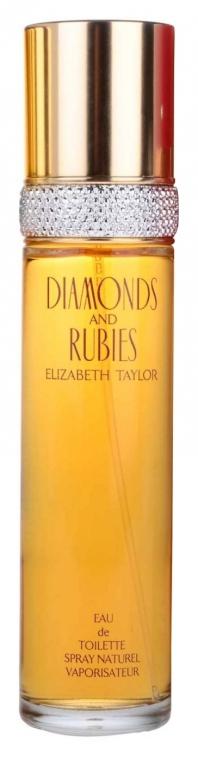 Elizabeth Taylor Diamonds&Rubies - Woda toaletowa — фото N2
