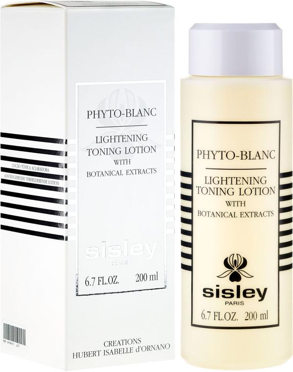 Płyn tonizujący z roślinnymi ekstraktami - Sisley Phyto-Blanc Lightening Toning Lotion — фото N1