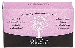 Kup Mydło w kostce Oliwka i lawenda - Olivia Beauty & The Olive Tree Natural Bar Soap With Olive Oil And Lavender Oil