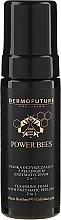 Kup Oczyszczająca pianka z peelingiem enzymatycznym 2 w 1 do twarzy - DermoFuture Power Bees