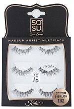 Kup Zestaw sztucznych rzęs Katie - Sosu by SJ Makeup Artist Multipack Eyelashes