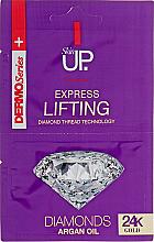 Kup Ekspresowa maska liftingująca do twarzy z olejem arganowym - Verona Laboratories DermoSerier Skin Up Express Lifting Diamonds 24k Gold