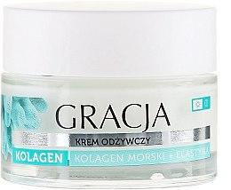 Kup Odżywczy krem kolagenowy na dzień i na noc Kolagen morski + elastyna - Gracja