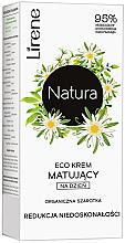 Kup PRZECENA! ECO krem matujący do twarzy na dzień Redukcja niedoskonałości Organiczna szarotka - Lirene Natura *