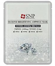 Kup Rozświetlająca maseczka-ampułka do twarzy z pyłem diamentowym - SNP Diamond Brightening Ampoule Mask