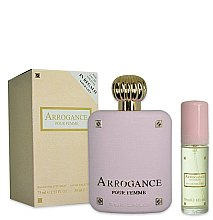 Kup Arrogance Pour Femme - Zestaw (edt 75 ml + edt 30 ml)
