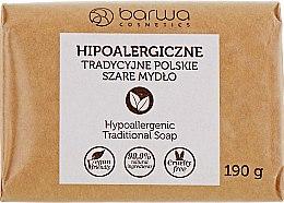 Kup Hipoalergiczne tradycyjne polskie szare mydło - Barwa Soap