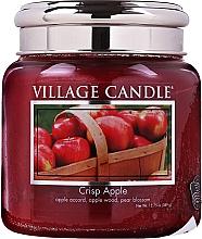 Kup Świeca zapachowa w szkle - Village Candle Crisp Apple