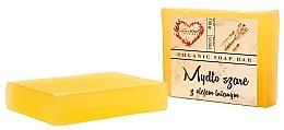 Kup Glicerynowe szare mydło w kostce z olejem lnianym - The Secret Soap Store