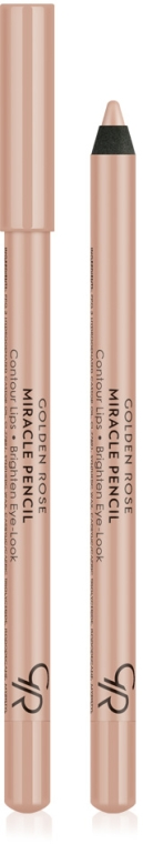 Wielofunkcyjna kredka do oczu i ust - Golden Rose Miracle Pencil