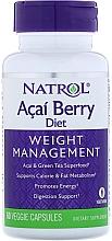 Kup Acai Berry ochrona antyoksydacyjna, kapsułki - Natrol AcaiBerry Diet