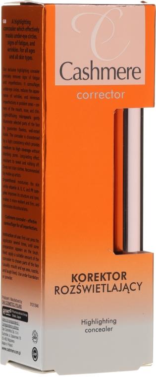 Korektor rozświetlający - DAX Cashmere Corrector