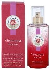 Roger & Gallet Gingembre Rouge - Odświeżająca woda zapachowa — фото N4