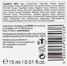 Rozjaśniający krem pod oczy Świetlik i witamina C - Floslek — фото N3