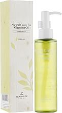Oczyszczający olejek z ekstraktem z zielonej herbaty - The Skin House Natural Green Tea Cleansing Oil — фото N1