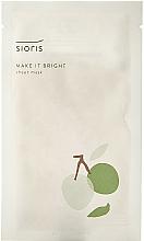 Kup Rozświetlająca maska do twarzy - Sioris Make It Bright Sheet Mask