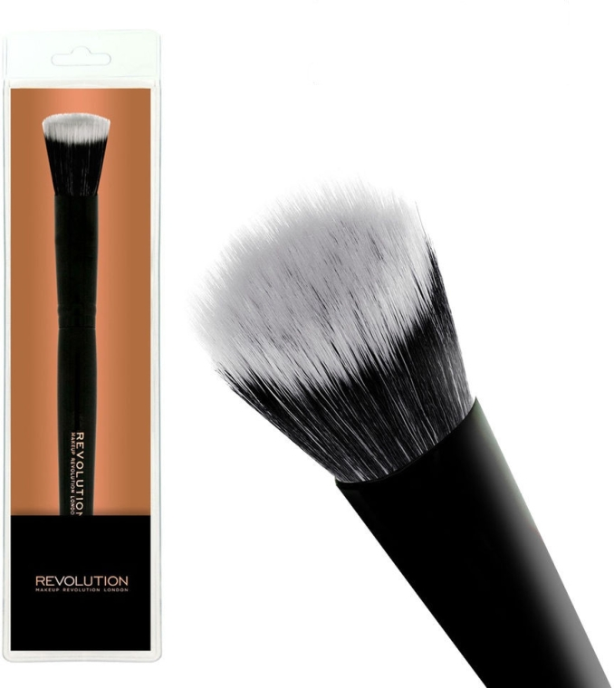 Pędzel do podkładu F103 - Makeup Revolution Stippling Brush
