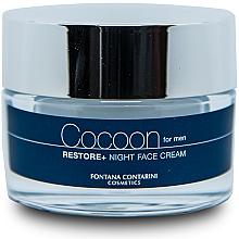 Kup Krem do twarzy dla mężczyzn - Fontana Contarini Cocoon Restore+ Night Face Cream