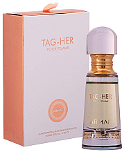 Kup Armaf Tag Her Non Alcoholic Perfume Oil - Perfumowany olejek do ciała