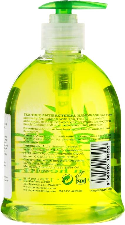 Antybakteryjne mydło w płynie do rąk Drzewo herbaciane - Xpel Marketing Ltd Tea Tree Anti-Bacterial Handwash — фото N2