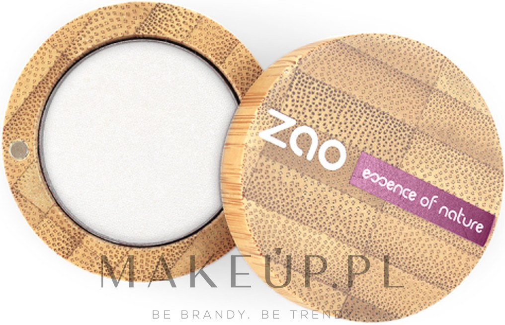 Cień do powiek, perłowy - ZAO Pearly Eye Shadow — фото 101 - White