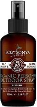 Kup Organiczny spray do ciała i pomieszczeń - Eco by Sonya Citronella Personal Outdoor Spray