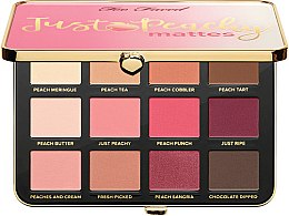 Kup Paleta cieni do powiek - Too Faced Just Peachy Mattes