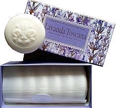 Kup Zestaw mydeł w kostce Lawenda - Saponificio Artigianale Fiorentino Lavender Toscana (6 x soap 50 g)