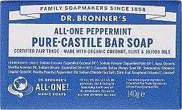 Kup Mydło w kostce Mięta - Dr. Bronner's Pure Castile Bar Soap Peppermint
