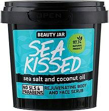 Kup Regenerujący scrub do twarzy i ciała z solą morską i olejem kokosowym - Beauty Jar Sea Kissed Rejuvenating Body And Face Scrub