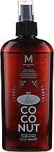 Kup Olejek do opalania SPF 6 - Mediterraneo Sun Coconut Suntan Oil Dark Tanning SPF6
