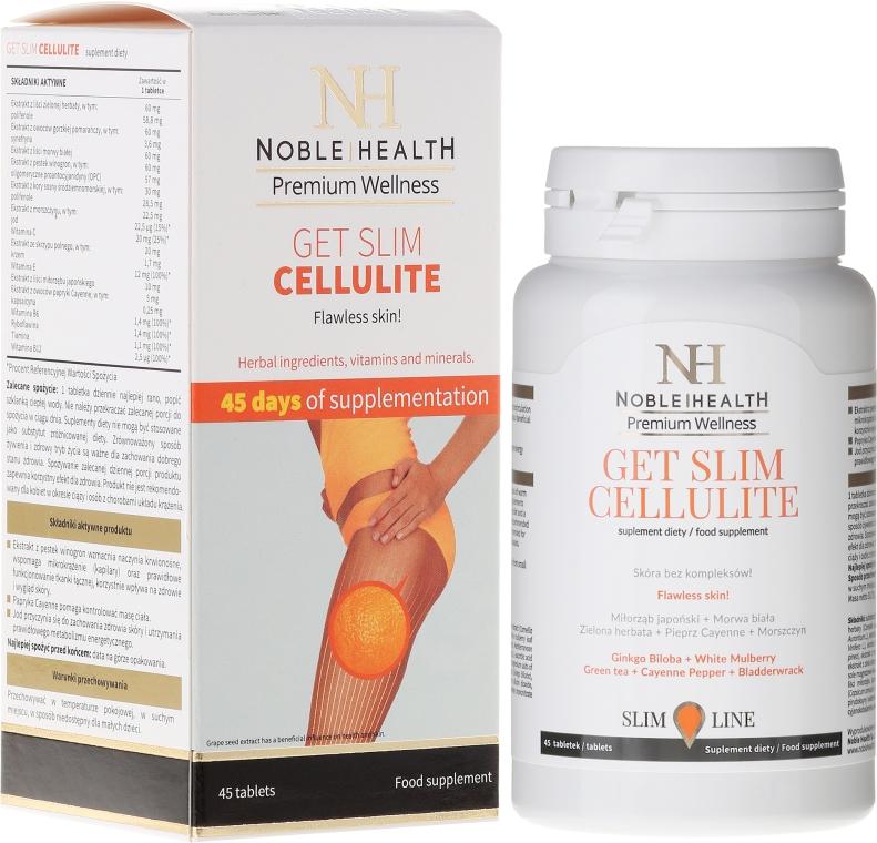 45-dniowa kuracja antycellulitowa - Noble Health Get Slim Cellulite