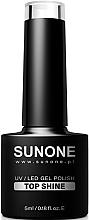 Kup Top coat do paznokci - Sunone UV/LED Gel Polish Top Shine