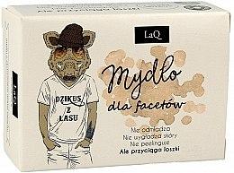 Kup Mydło dla facetów z węglem aktywnym w kostce Dzikus z lasu - LaQ Men
